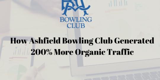 Ashfield Bowling Club Case Study