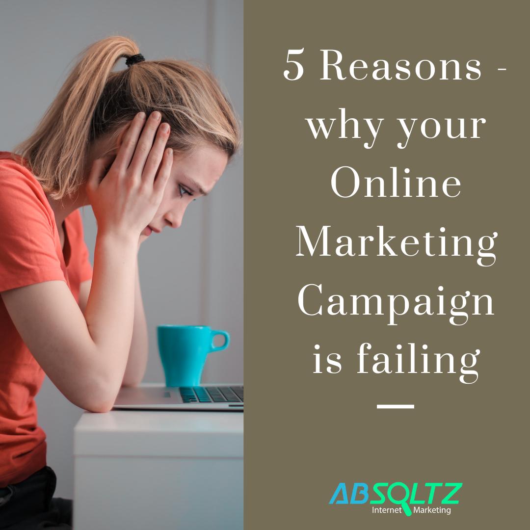 Failing Online Marketing